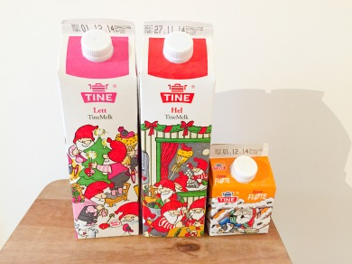 Tine christmas milk