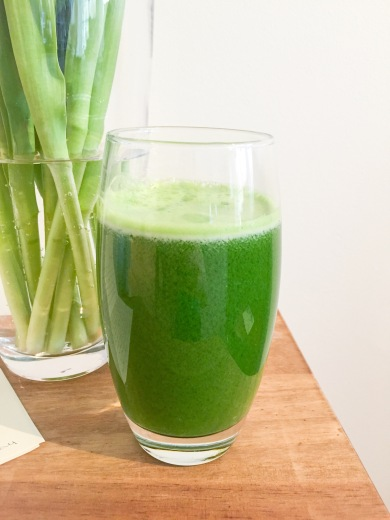 Kale, Apple, Celery and Ginger Juice