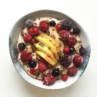 Autumn porridge bowls